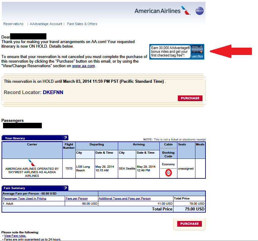 American Airlines Award Travel Reservations Phone Number