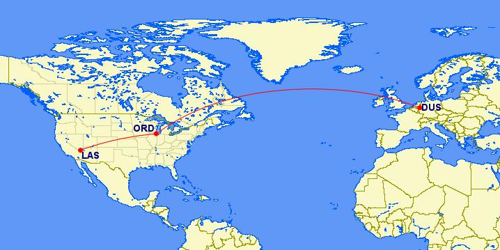 dus-ord-las route map
