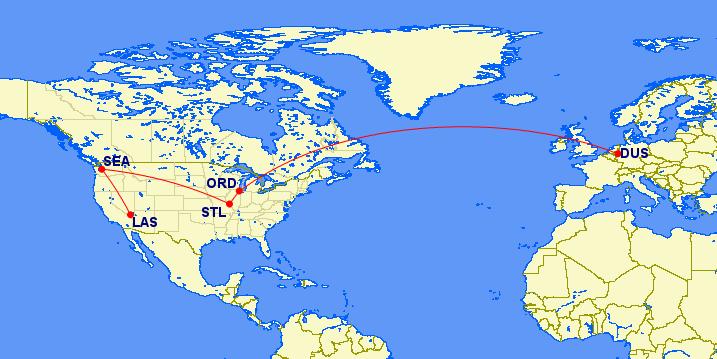 DUS-ORD-STL-LAS map