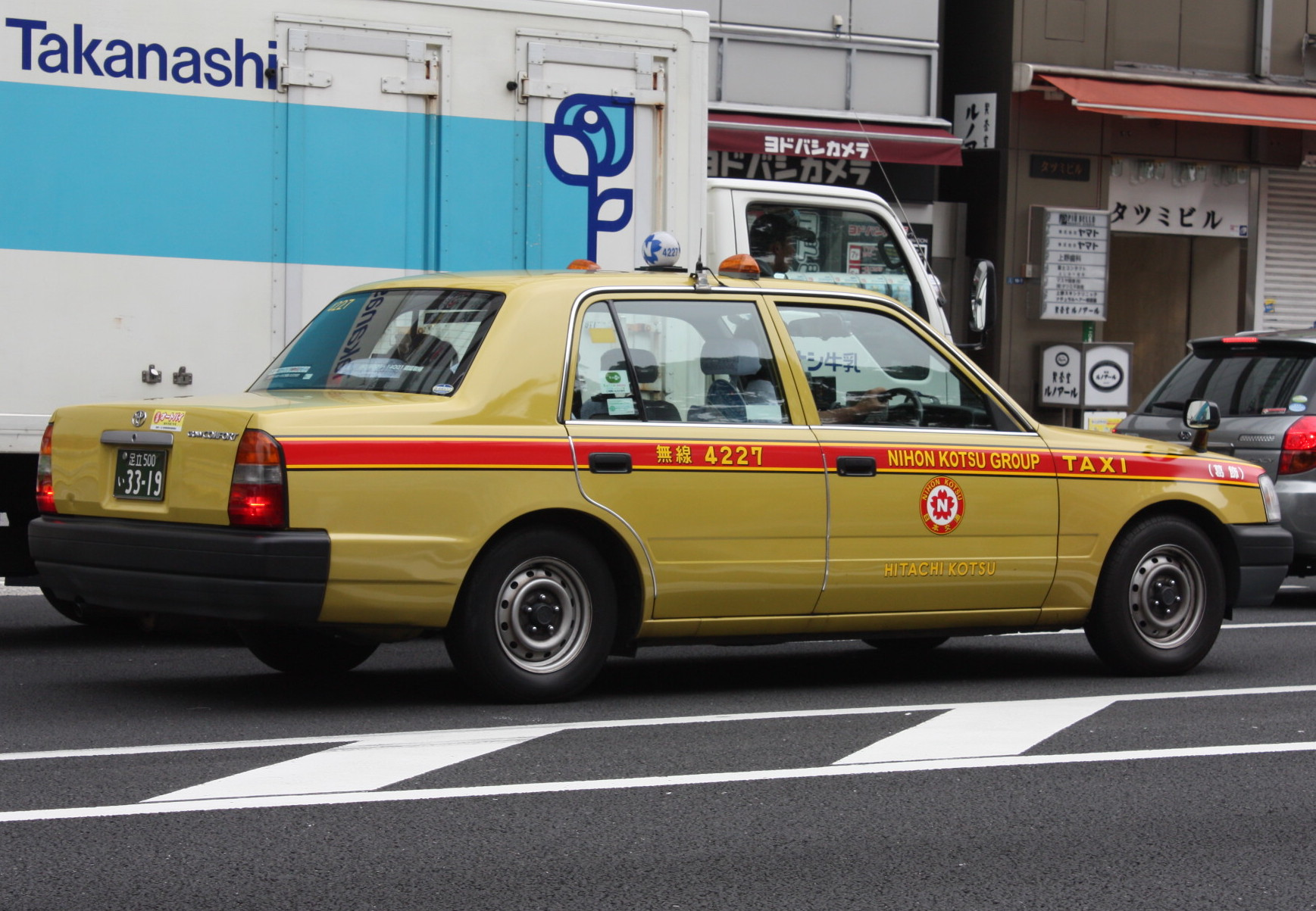 Tokyo taxicab photo