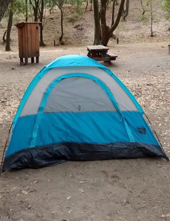 picture of tent camping
