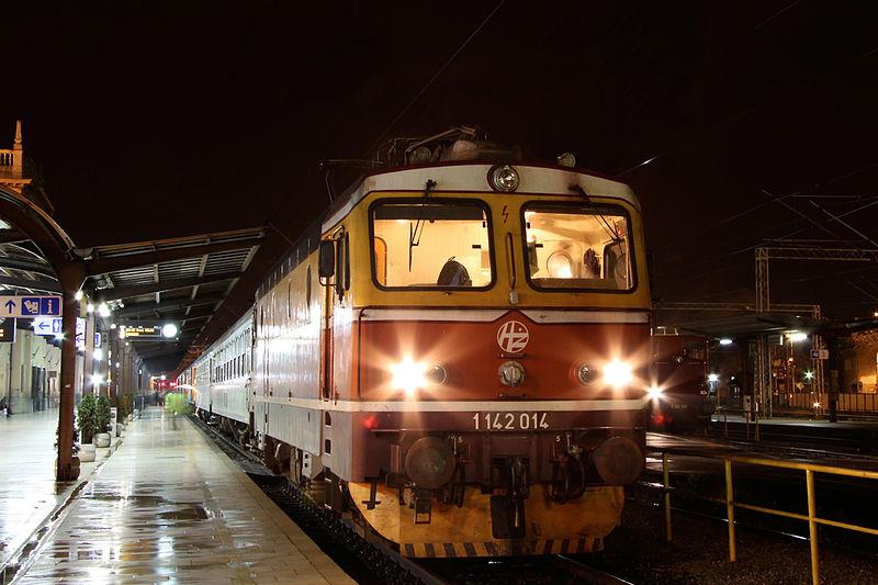 Picture of Croatian train