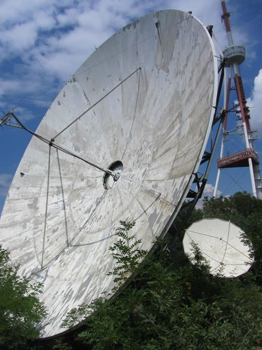 Soviet-era communications gear