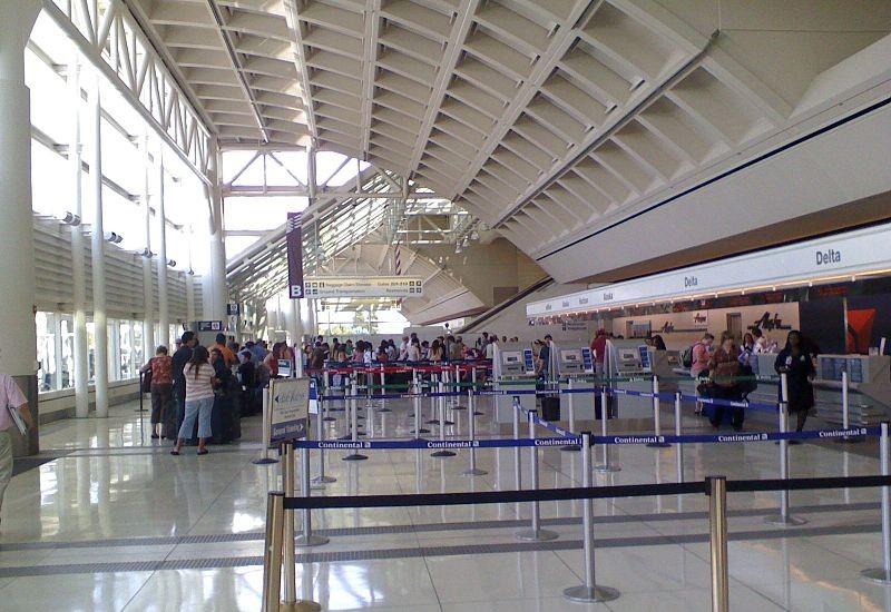 Ontario airport terminal image