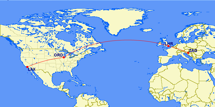 zag-lhr-ord-lax map