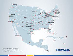 Southwest usually has enough flights to bail you out of a jam