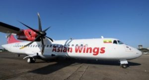 Asian Wings plane