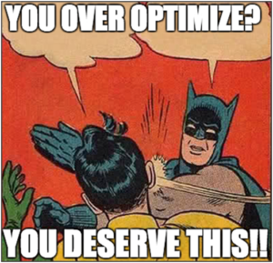 don't over optimize jpg