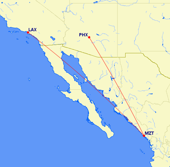 lax-mzt-phx map