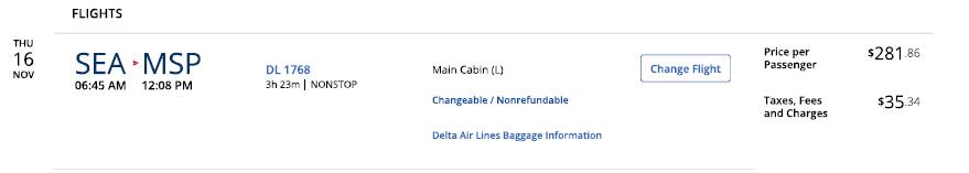 cost of flight sea-msp
