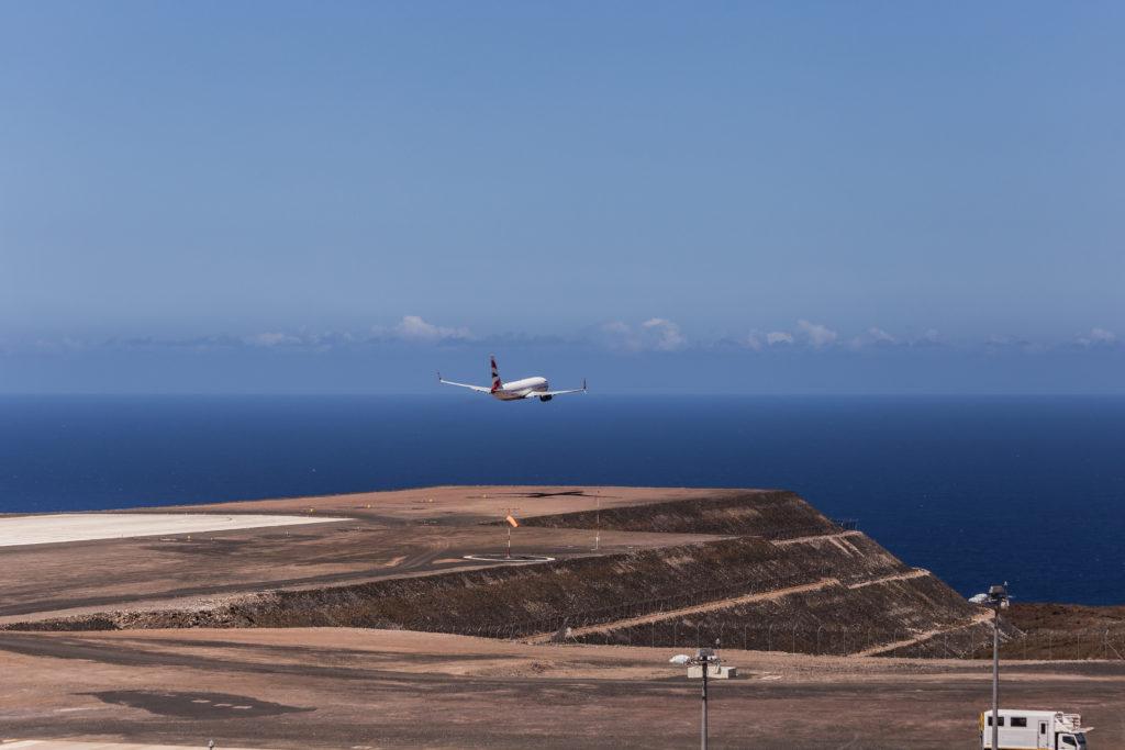 St. Helena airport runway