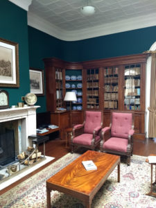 governor's library, st. helena