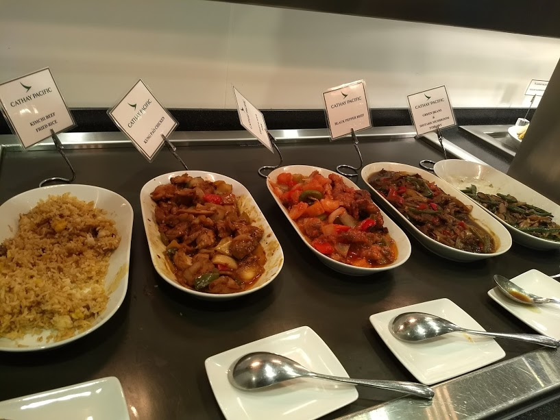 gross food in cathay lounge