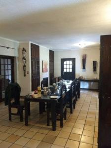 Outlook Lodge breakfast area