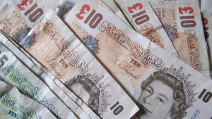 uk pounds cash