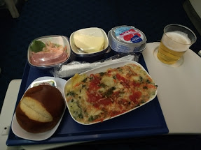 another airplane meal
